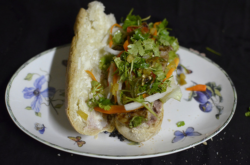 Caramelized Pork Banh Mi | Kitchen Butterfly